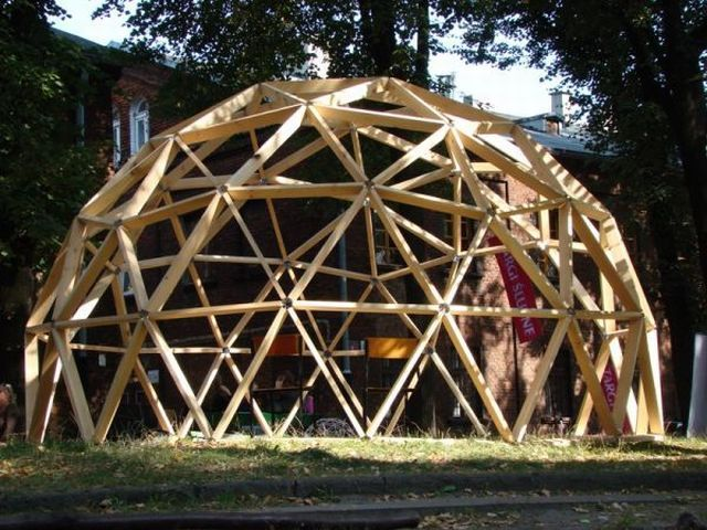 geodesic dome 06 - Dome Greenhouse Designs