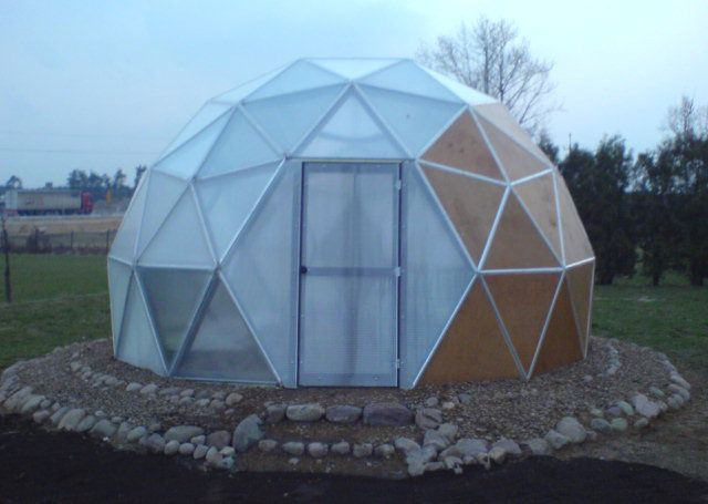 geodesic dome 06 geodesic dome2 - Dome Greenhouse Designs