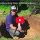 How to make a grey water infiltration basin