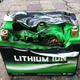 Exploded lithium battery