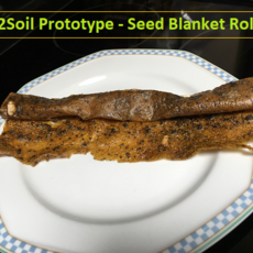 """Sun2Soil Prototype - Seed Blanket Roll-Up"" - Video Report #3. Willi Paul Studio / Planetshifter.com"